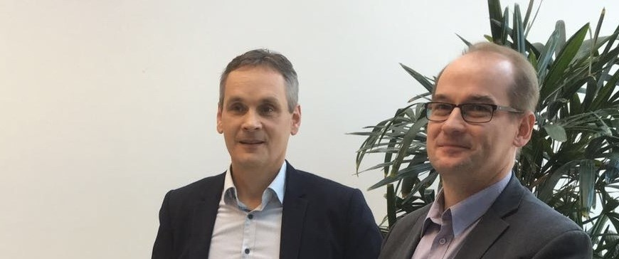 Heikki Kärki ja Risto Laukkanen