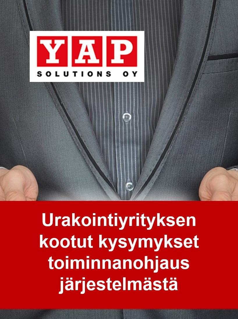 urakointiyrityksen kootut kysymykset toiminnanohjausjärjestelmästä - Toimitusjohtajan opas